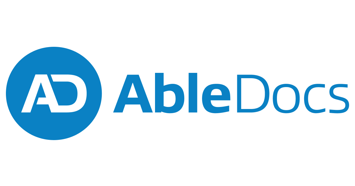 AbleDocs - Accessible Document Services