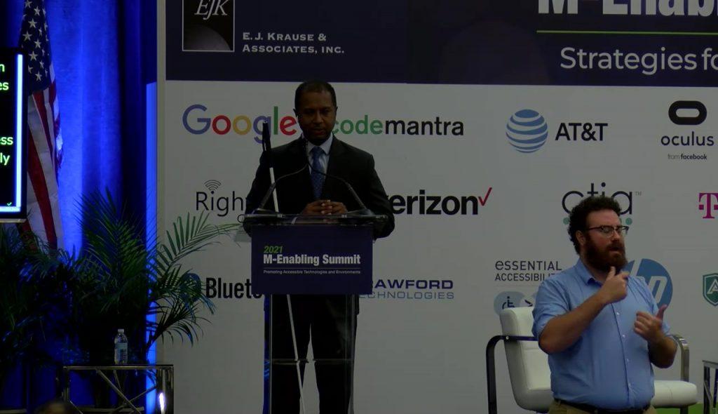 View 2021 M-Enabling Day1 2:00PM : Keynote – Dr. Sachin Dev Pavithran with a vendor's digital pass