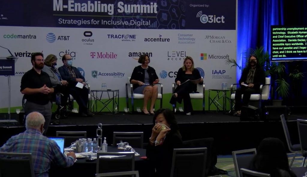 View 2021 M-Enabling Day2 9:30AM: Panel Workplace of the Future with a vendor's digital pass